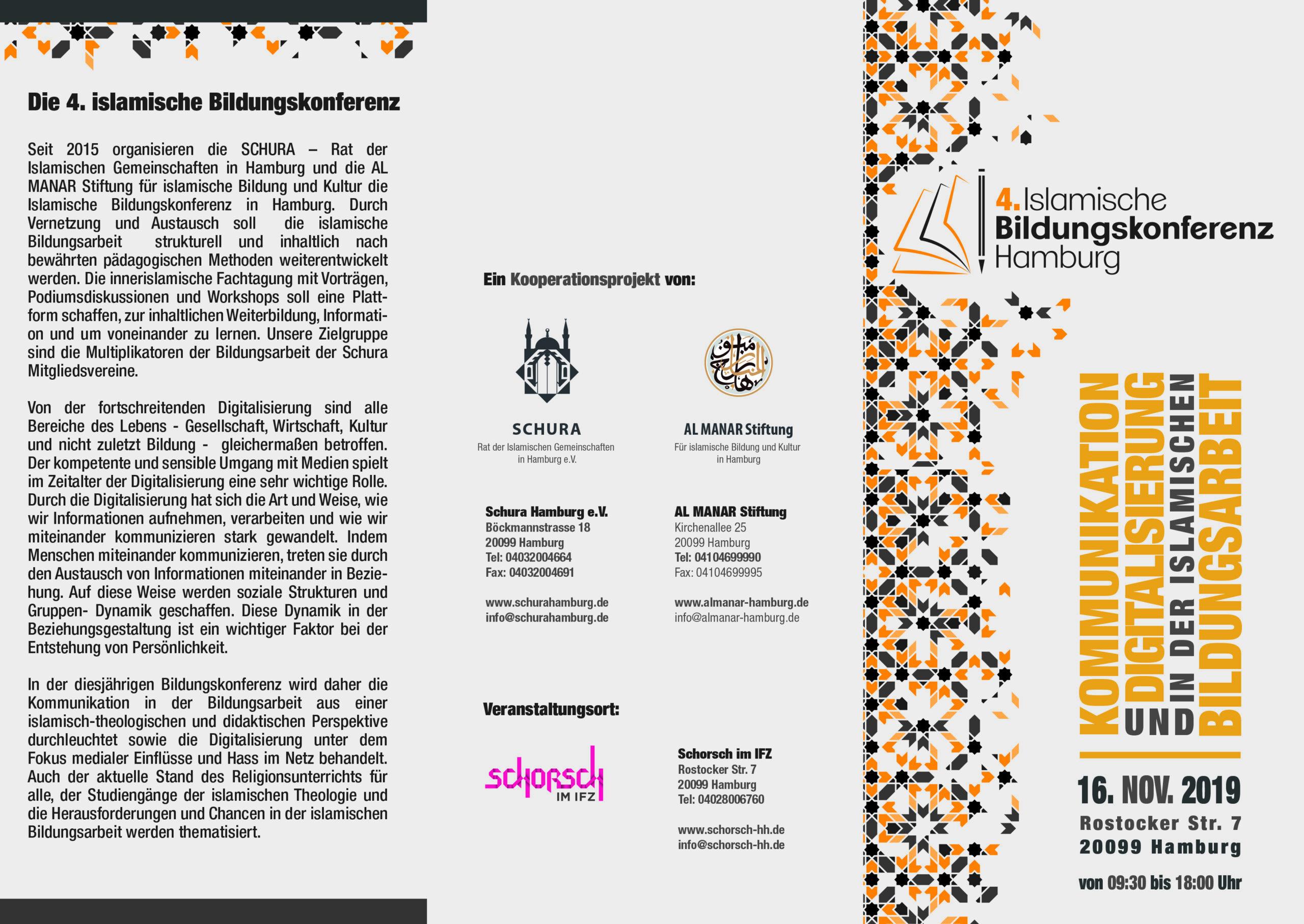 Die 4. iBiKo - islamische Bildungskonferenz